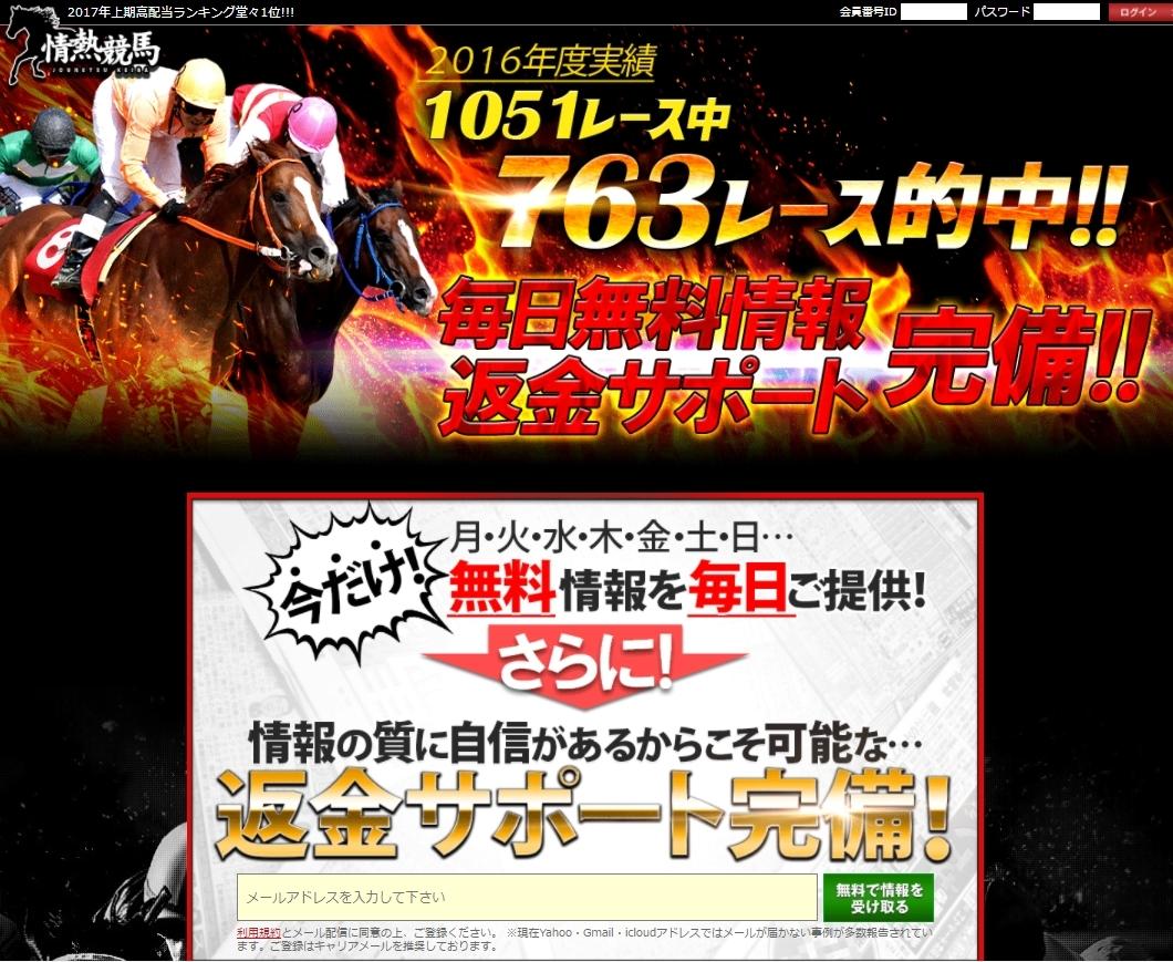 情熱競馬のTOPイメージ画像